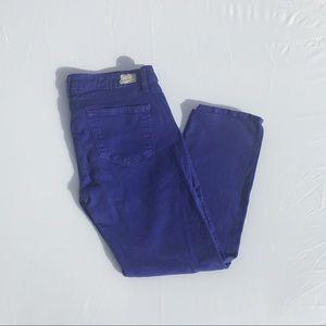 NWOT - Paige jeans. Violet Roxie Capri - 30 waist